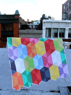 Dear Stella's Disco Quilt using their Confetti Dots fabric is out of this world awesome!