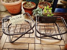 収納やミニテーブルに変身♡100均パイプ椅子のリメイクアイデア6選 - CRASIA