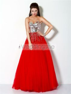 Beautiful Floor-Length Sweetheart Ball Gown/Prom Dress(Free Shipping)