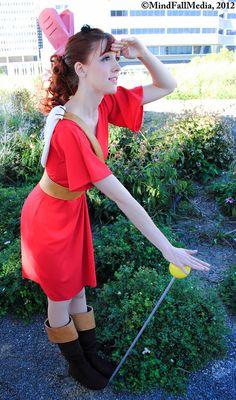 Arrietty. Animation Movie: The Borrower Arrietty. Cosplayer: Kaitlin Reid 'aka' FlyingFox 'aka' Sakuranim 'aka' Sunset Dragon. From: Maryland, US. Photo: Mindfall 2012.