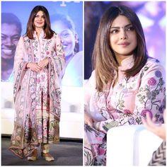 "25.9k Likes, 72 Comments - Pinkvilla (@pinkvilla) on Instagram: ""Priyanka Chopra looks pretty in a pink suit at an event! @pinkvilla  . . #priyankachopra #peecee…"""
