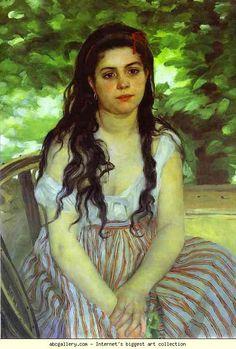 Pierre-Auguste Renoir. In the Summer.