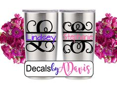 Yeti 20oz Decal / Yeti Tumbler 20 oz / Yeti by DecalsbyADavis