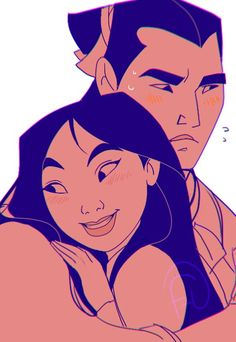Mulan and Shang                                                       …