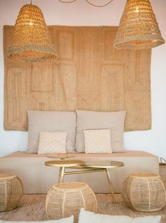 beach restaurant Aiyanna Ibiza - Ibiza hip beach r - Ibiza Style Interior, Cafe Interior, Decoration Inspiration, Interior Inspiration, Interior Natural, Bamboo Pendant Light, Deco Studio, Ibiza Beach, Ibiza Fashion