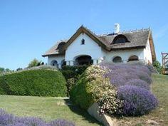 Levendula és bor - Balaton Bor, Mansions, House Styles, Water, Outdoor, Home Decor, Gripe Water, Outdoors, Decoration Home