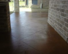 DIY Stained Concrete Patio Ideas with Pictures - http://sight.seamlessteamwork.com/diy-stained-concrete-patio-ideas-with-pictures/ : #HouseIdeas Stained concrete patio has more elegant design that applicable based on DIY preferences in how to make much better patio and checking pictures on this post is going to be great to get some useful ideas. Pictures of stained concrete patios show that in making much finer quality of patio space,...