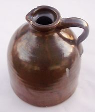 moonshine jug, small with spout