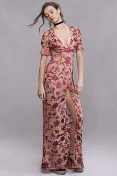 SAFFRON MAXI DRESS