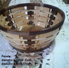 Panera - segmentos de madera - Abilio Tigero
