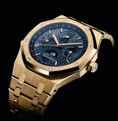 Brand New Audemars Piguet Royal Oak Perpetual Calendar. Luxury safes, exclusive design, luxury goods, luxury life. For more luxury news check out: http://luxurysafes.me/blog/