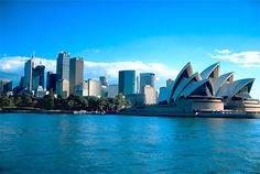 Picture of Sydney Harbour with Opera House, with the city skyline in view. Oh The Places You'll Go, Places To Travel, Places To Visit, Australia Photos, Sydney Australia, All I Ever Wanted, Countries Of The World, Dream Vacations, Beautiful Places