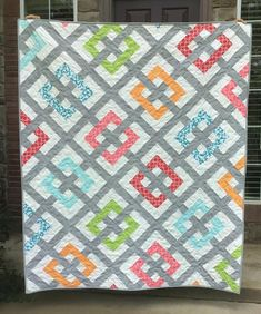 Twin Quilt Pattern, Modern Quilt Patterns, Quilt Patterns Free, Fat Quarter Quilt Patterns, Patchwork Quilt Patterns, Quilt Patterns For Beginners, Simple Quilt Pattern, Square Patterns, Block Patterns
