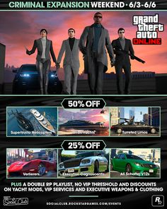 Discounts and bonuses offered to players ahead of the big update coming next week.