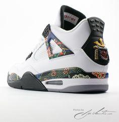 "sale retailer 168a8 0cb40 Air Jordan 4 IV ""Samurai"" Custom by El Cappy"