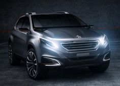 Peugeot Urban Crossover Concept Car