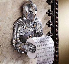 Knight in Shining Armor TP holder