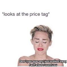 hahaha. shopping, every time
