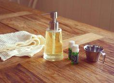 Økologisk hjemmelaget oppvaskmiddel