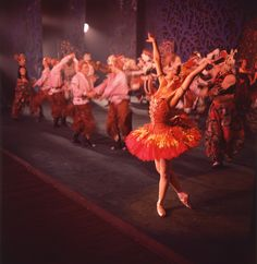 Margot Fonteyn as the Firebird, The Royal Ballet, 1959