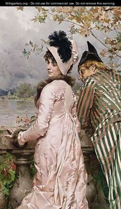 Frederick Hendrik Kaemmerer.The Flirtation