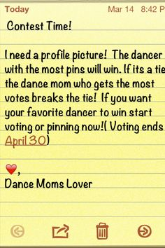 It's Contest Time! Read picture for details