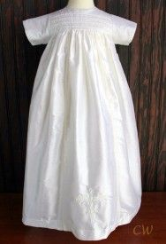 Family baptism gown made of 100% silk, Christening Wardrobe. Beautiful, classic outfits for boys and girls on this site.