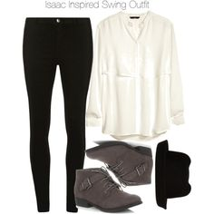 """Isaac Inspired Swing Outfit"" by veterization on Polyvore i like every thing except for the hat....the hat just please no"