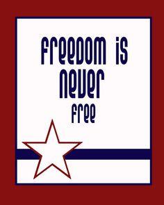Honoring Veterans (free printable)