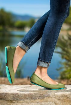 Olive Tieks - neutral enough for everyday wear, yet striking enough to be the statement piece of any outfit!
