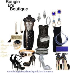 """""""Bougie B's Boutique - Evening Glam - Would You Wear This?"""" by bougie-bees-boutique on Polyvore"""