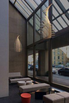 RHYTHM sculptural pendant, design by Arik Levy http://www.vibia.com/en/blog/entry/id/139/hanging_sculptures_light_fittings_with_infinite_possible_configurations.html?utm_source=organic&utm_medium=pinterest&utm_campaign=sculptural_pendants