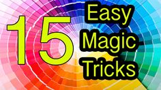 While the magic tricks are great, most are easy to do. Magic tricks are designed to please crowds, which inevitably forms a majority at most gatherings. Magic tricks are the most popular form of magic entertainment. Self-working magic Easy Magic Card Tricks, Magic Tricks Revealed, How To Do Magic, Learn Magic, Magic Illusions, Types Of Magic, Magic Show, The Magicians, Instagram