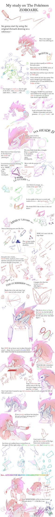 How+to+Draw+Zoroark-+DrawerElma's+Study+by+DrawerElma.deviantart.com+on+@deviantART