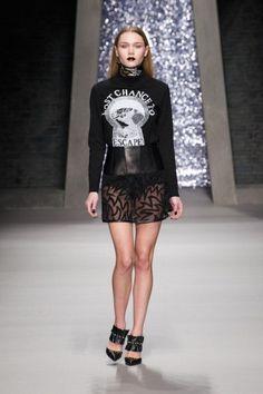 Immy Waterhouse at Ashley Williams show - London Fashion week