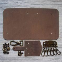 Страсть junetree DIY комплект материалов для натуральная кожа брелок держатель кожа частей и аксессуаров купить на AliExpress
