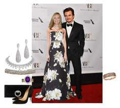 """Carrie x Quinn AU set #47- American Ballet Theaters 75th Fall Gala"" by varia3 ❤ liked on Polyvore featuring Olsen, Carolina Herrera, Carven, Gucci, Christian Louboutin, Homeland, ClaireDanes, CarrieMathison, PeterQuinn and rupertfriend"