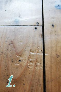 How To Remove Dents In Wood