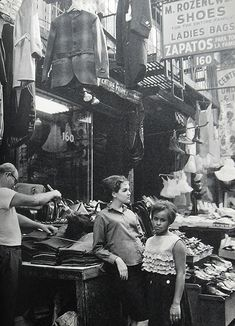 New York City 1960s Garment Stores Lower East Side by Christian Montone