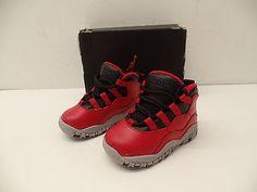 b60c0a25721 Nike Air Jordan 10 X Retro Bulls Over Broadway Gym Red BT TD 310808-601 Sz  6c