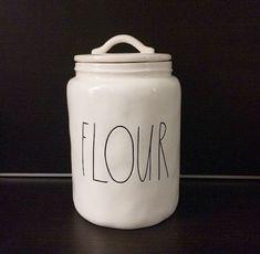 Rae Dunn Magenta FLOUR Canister / Jar - Rare, Brand New! in Pottery & Glass, Pottery & China, China & Dinnerware, Other China & Dinnerware | eBay
