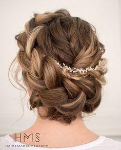 braided wedding updo ~  we ❤ this! moncheribridals.com