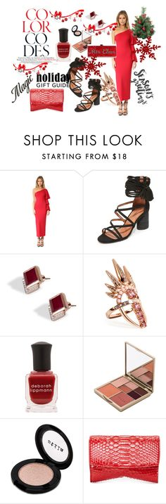 """""""My Styles......#123"""" by hillarymaguire ❤ liked on Polyvore featuring Torn by Ronny Kobo, Jeffrey Campbell, Monica Vinader, Nikos Koulis, Deborah Lippmann, Stila, Narciso Rodriguez and Edie Parker"""