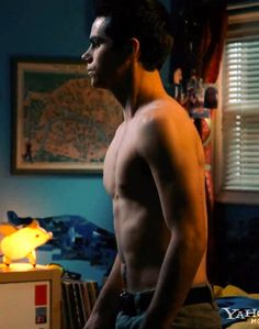 Dylan O'Brien shirtless in new movie The First Time.