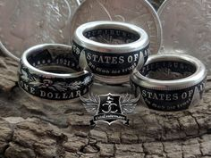 """Custom Hand Made Coin Rings - """"Transforming old coins into timeless wearable keepsakes"""""""