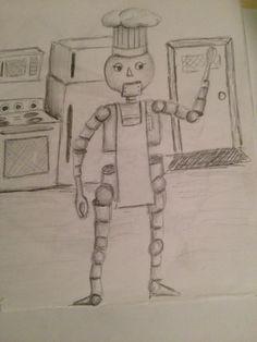 Robot doodle 2