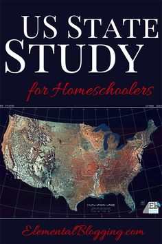 US State Study for Homeschoolers; printables; classical conversations cycle 3; US history