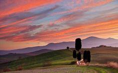 Sonnenuntergang bei Terrapille