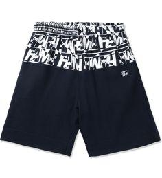 Navy Raider Shorts
