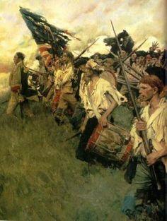 Battle of Bunker Hill...American Revolution.